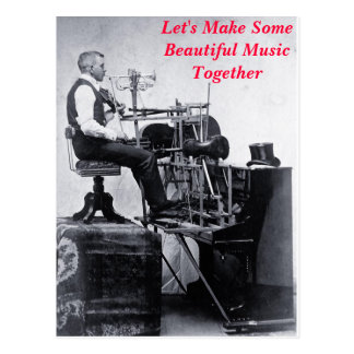 Let's Make Some Beautiful Music Together - card