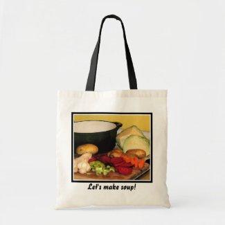 Let's make soup! bag