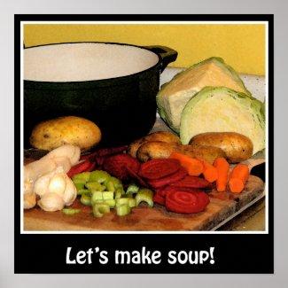 Let's make soup! print