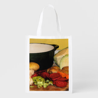 Lets Make Soup Reusable Grocery Bags