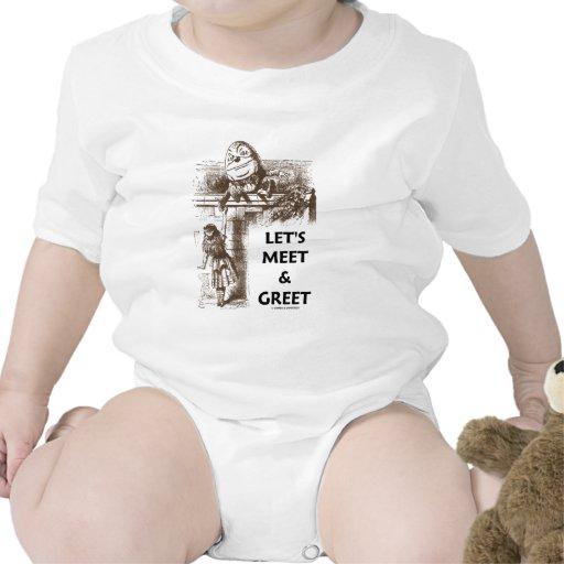 Let's Meet & Greet Alice Humpty Dumpty Wonderland Baby Bodysuit