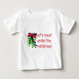 Let's Meet Under The Mistletoe T-shirt