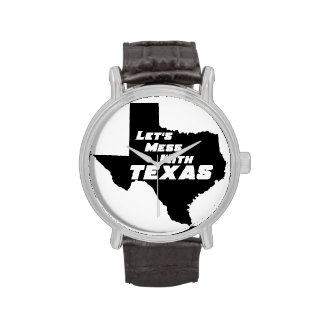 Let's Mess With Texas Black Watch