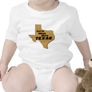 Let's Mess With Texas Brown Bodysuits