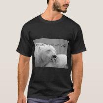"""""""Let's Mingle Till We Tingle"""" Polar Bears T-shirt"""