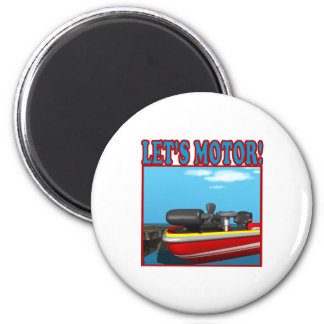 Lets Motor Fridge Magnets