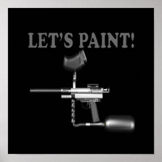 Lets Paint 3 Poster