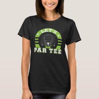 Lets Par Tee Funny Golf Lover Gifts Shirt