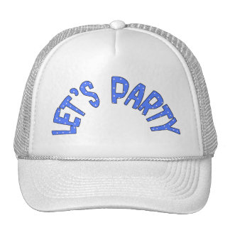 Lets Party All Products Kids Stuff Mesh Hats