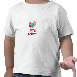 LET'S PARTY Balloons toddler T-shirt