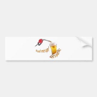 let's party car bumper sticker