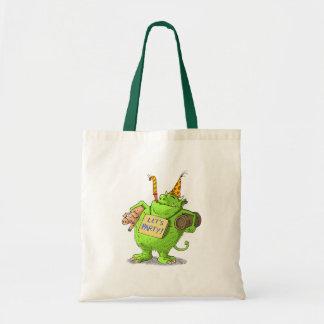 lets party canvas bag