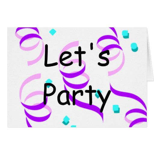 Let's Party Cards