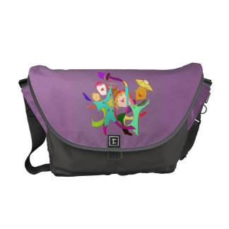 Let's Party! Carnival! Dancing in the Streets! Messenger Bag