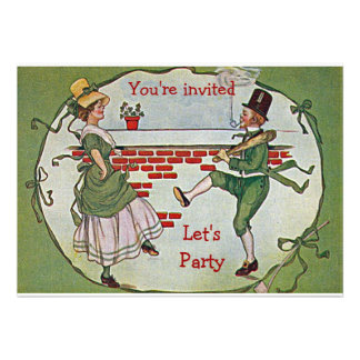 Let's Party for St Pats Personalized Announcement