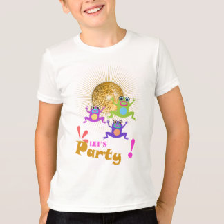 Let's Party Kids' Basic American Apparel T-Shirt