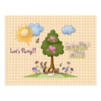 Let's Party! Postcard