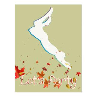 Let's Party Postcard