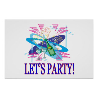 Lets Party Poster