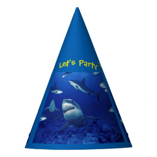 Let's Party Sharks Party Hat