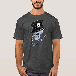 """Let's party"" Skull Tattoo T-shirt"