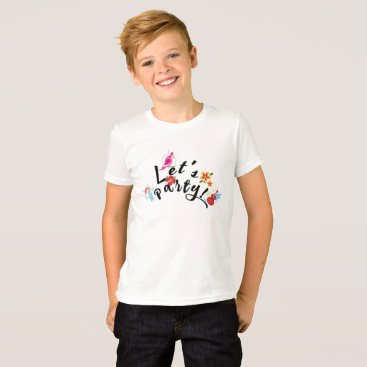 Beach Themed Let's Party! T-Shirt