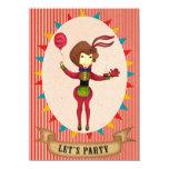 "Let's Party The Waitress- Invitation card 4.5"" X 6.25"" Invitation Card"