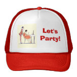 Let's party trucker hat