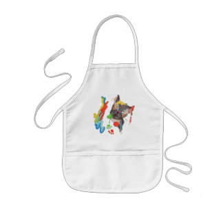 Let's Paw Paint Kids' Apron
