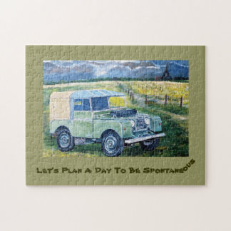 Let's Plan A Day To Be Spontaneous Jigsaw Puzzle