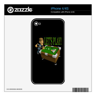 Lets Play 2 iPhone 4 Decal