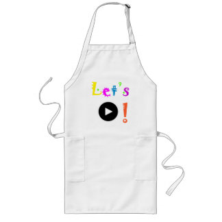 Let's Play! Apron