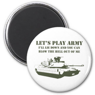 Let's Play Army Magnet