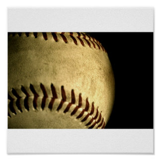 Lets play ball poster