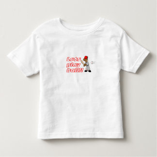 Lets play ball! toddler t-shirt