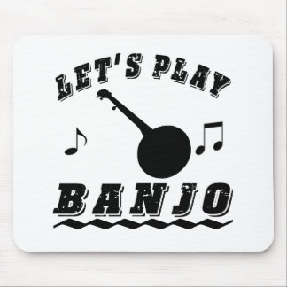 Let's Play Banjo Mouse Pad