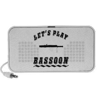 Let's Play Bassoon Travel Speakers
