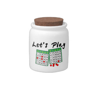 Let's Play Bingo Candy Jars