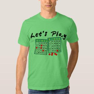 Let's Play Bingo T-Shirt