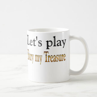 Let's Play Bury My Treasure Pirate Mug