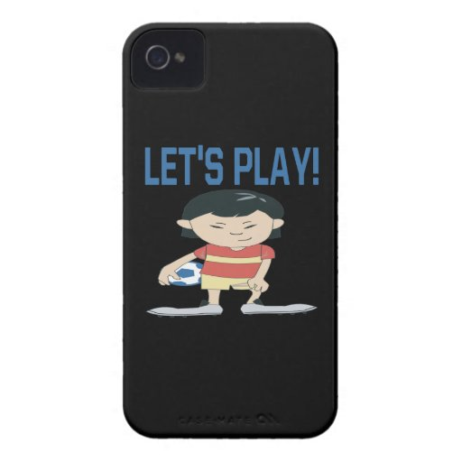 Lets Play Blackberry Case