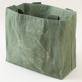 Let's Play, Digby! Dog and Wagon Fun Tote