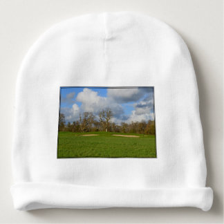 Let's Play Golf Baby Beanie