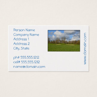 Let's Play Golf Business Card