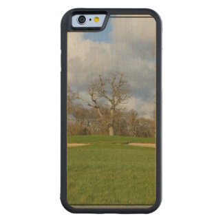 Let's Play Golf Carved® Maple iPhone 6 Bumper Case