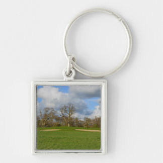Let's Play Golf Keychain