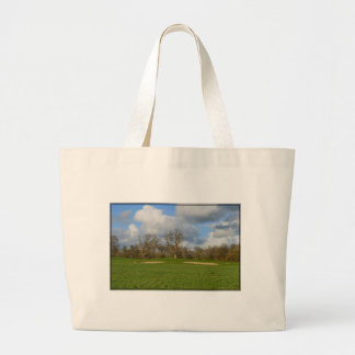 Let's Play Golf Large Tote Bag
