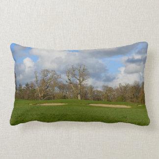 Let's Play Golf Lumbar Pillow
