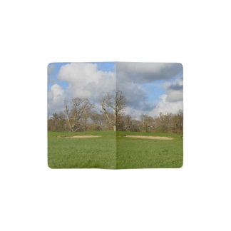 Let's Play Golf Pocket Moleskine Notebook Cover With Notebook