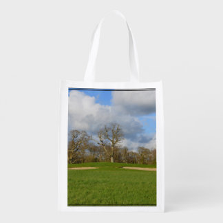 Let's Play Golf Reusable Grocery Bag